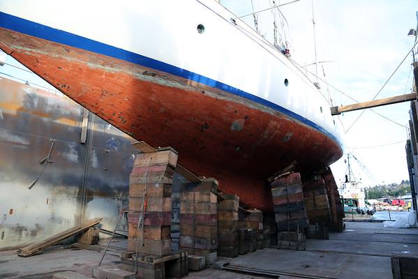 Odyssey in drydock 2014